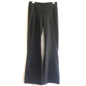 "LULULEMON Black Groove Pant Flare 32"" Size 10"